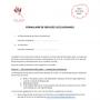 Formulaire de services occasionnels (FR)