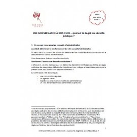 Manuel - Conseil d'administration et assemblées générales (FR)