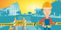 Travaux routiers à Bruxelles ? Nouveau système de compensation pour les commerçants à partir du 25 mars 2019